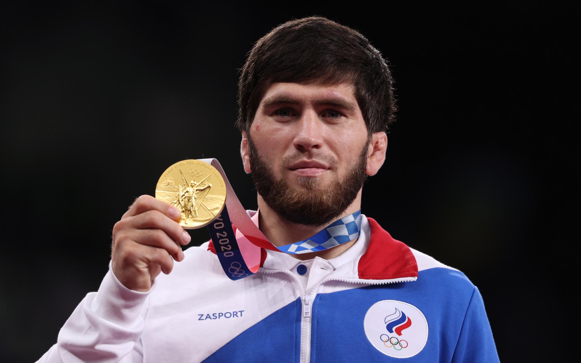 Фото: Олимпийский чемпион по вольной борьбе Заур Угуев (Станислав Красильников/ТАСС)