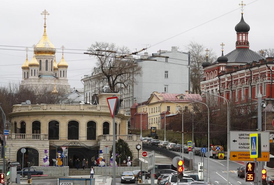 Вид на Сретенский монастырь