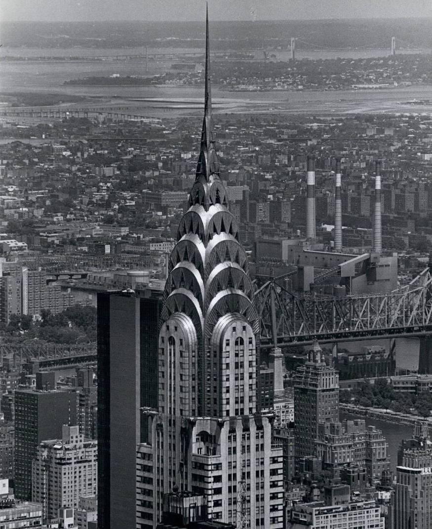 Chrysler Building. 1962 год