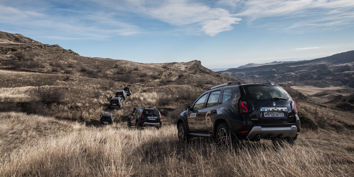 Дизельный Renault Duster очень экономичен. Уровень топлива к началу второй части маршрута вызывал опасения только на машинах с бензиновым мотором