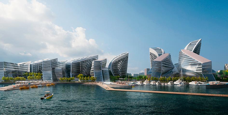Фото: Zaha Hadid Architects via Агентство «Центр»