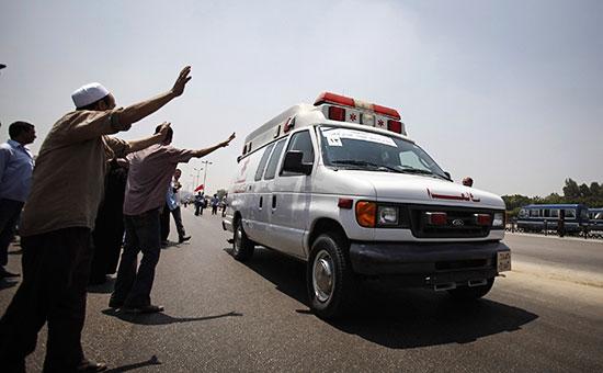 Машина скорой помощи в Каире