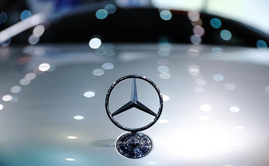 Логотип немецкого автоконцерна Mercedes