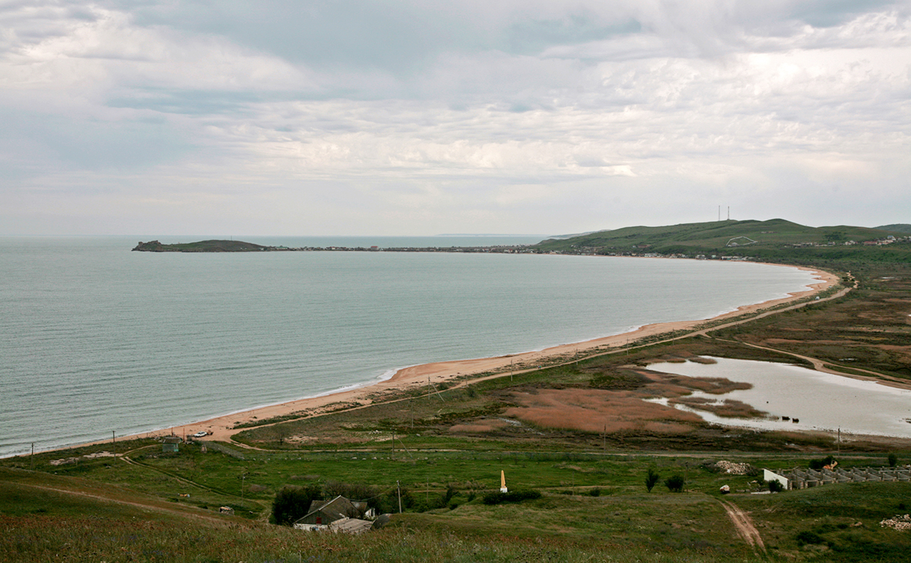 В Азовском море начали бурить скважины для водоснабжения Крыма