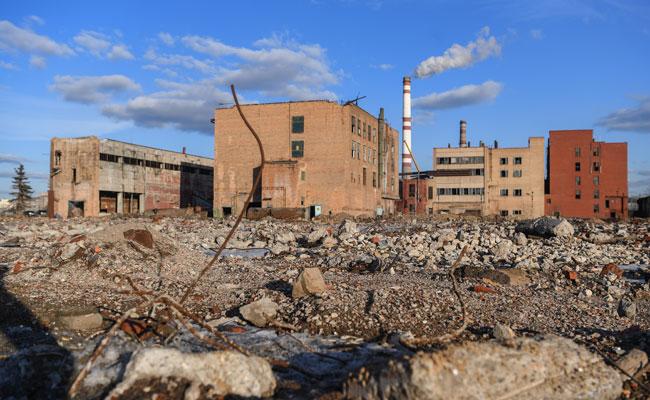 На территории бывшего завода имени Лихачева (ЗИЛ)