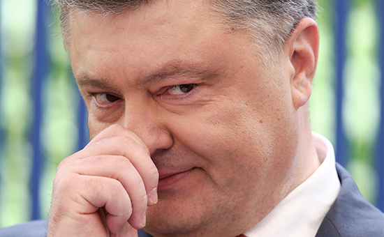 Президент Украин Петр Порошенко