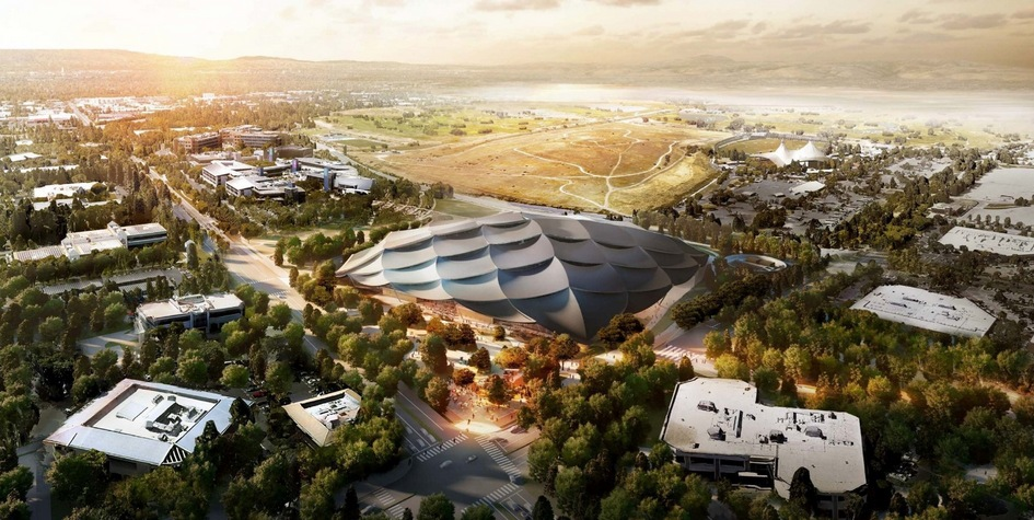 Кампус Google займет территорию в7,5 га