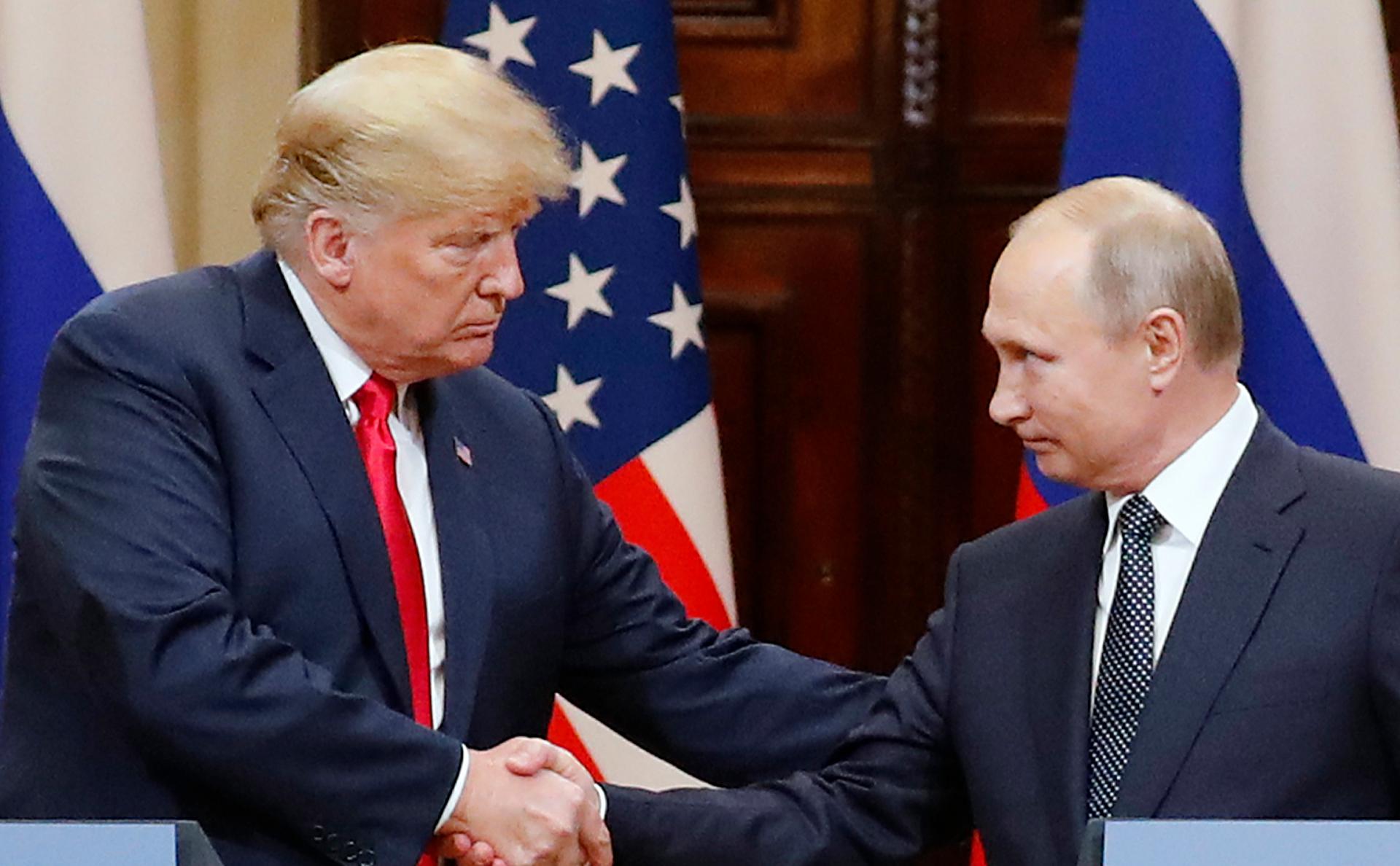 Дональд Трамп иВладимир Путин