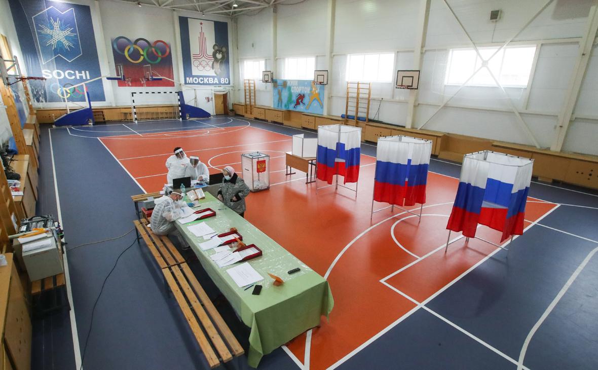 Избирательный участок №28 в селе Красное,Ненецкий автономный округ