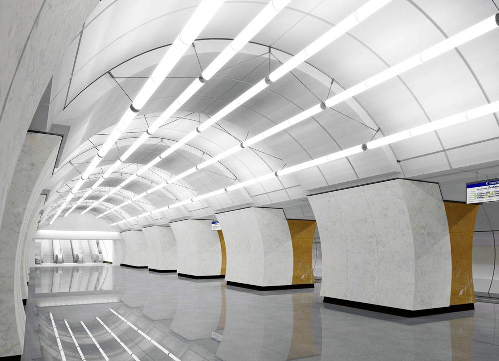 Станция «Окружная» Люблинско-Дмитровской линии метро