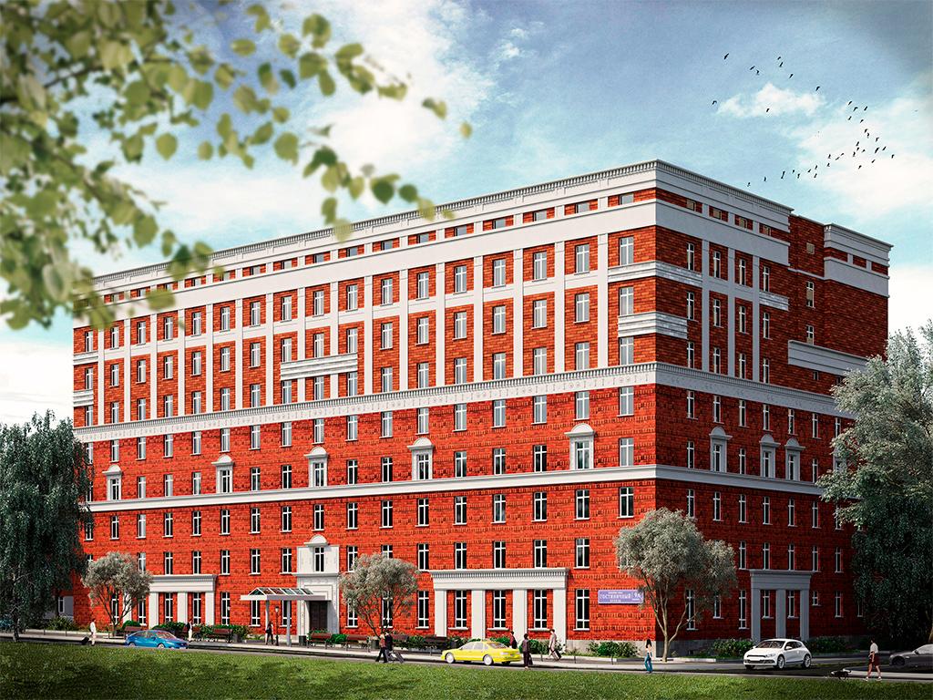 Проект комплекса с апартаментами «Восток»
