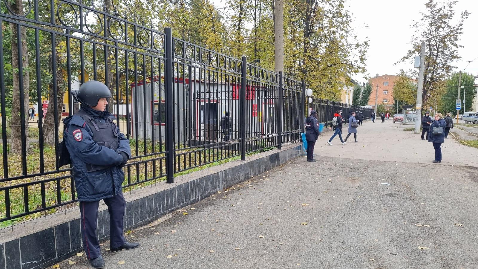 Дзержинский суд Перми изберет меру пресечения стрелку из ПГНИУ