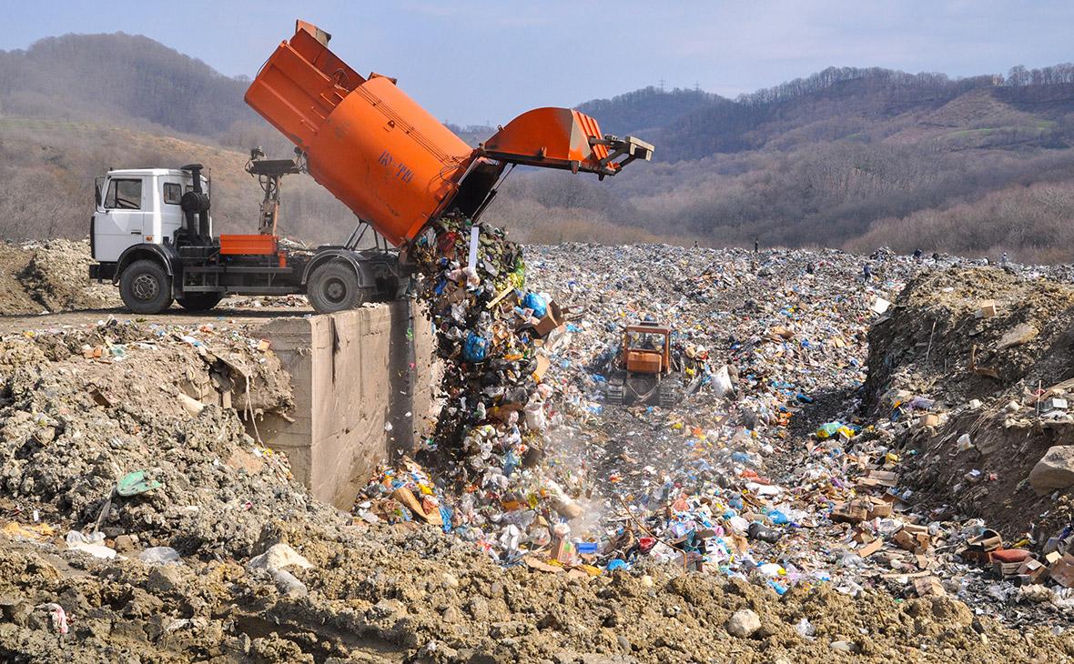 Полигон твердых бытовых отходов в Сочи