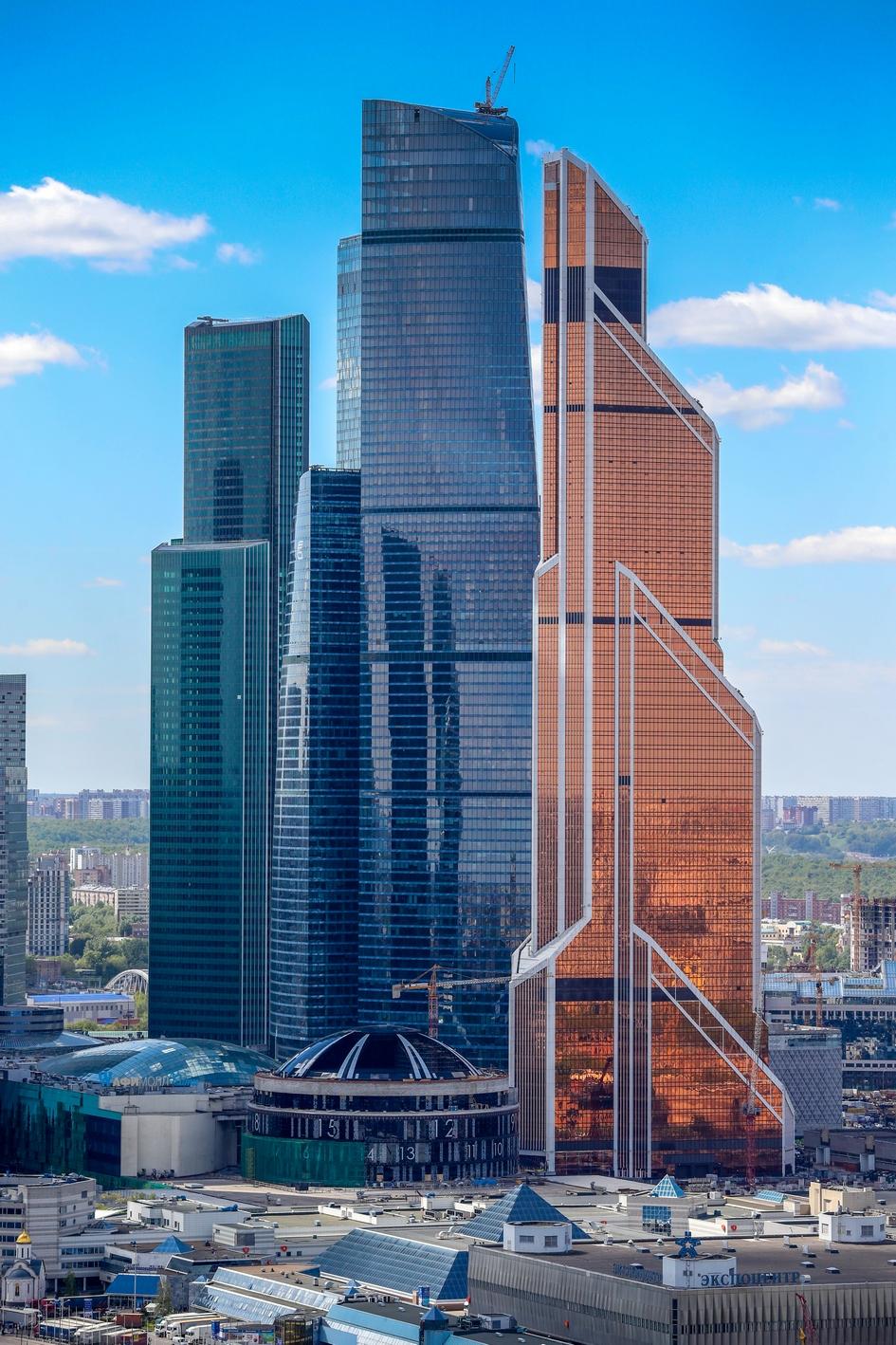 Небоскреб «Евразия» в деловом центре «Москва-Сити»