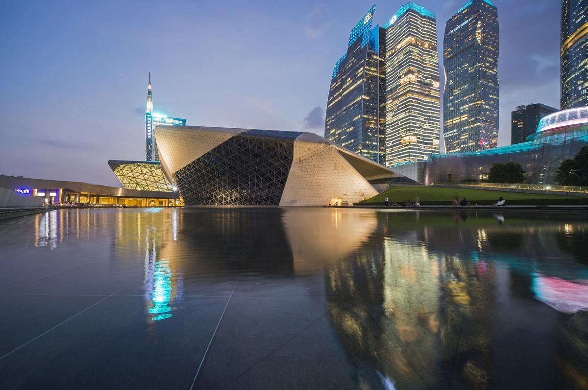 Оперный театрв Гуанчжоу