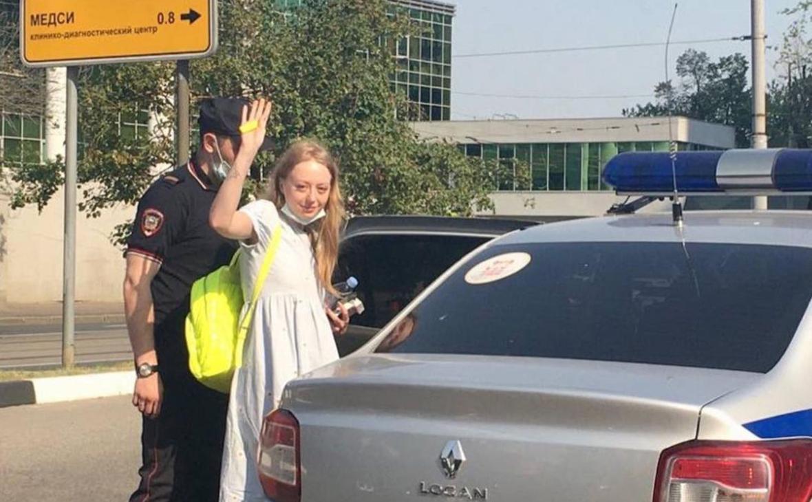 В Москве вновь арестовали вышедшую после 15 суток участницу Pussy Riot