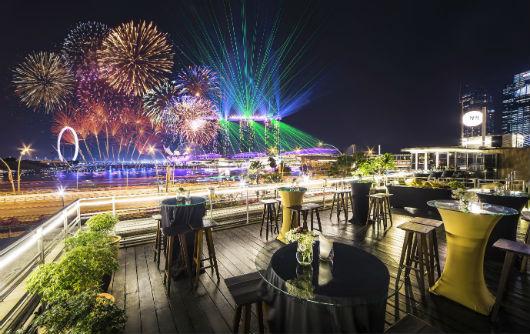 Бар отеля Marina Bay Sands