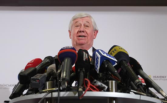 Генеральный прокурор Украины Виктор Шокин