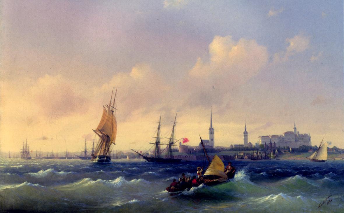 Картина Ивана Айвазовского «Вид на Ревель»
