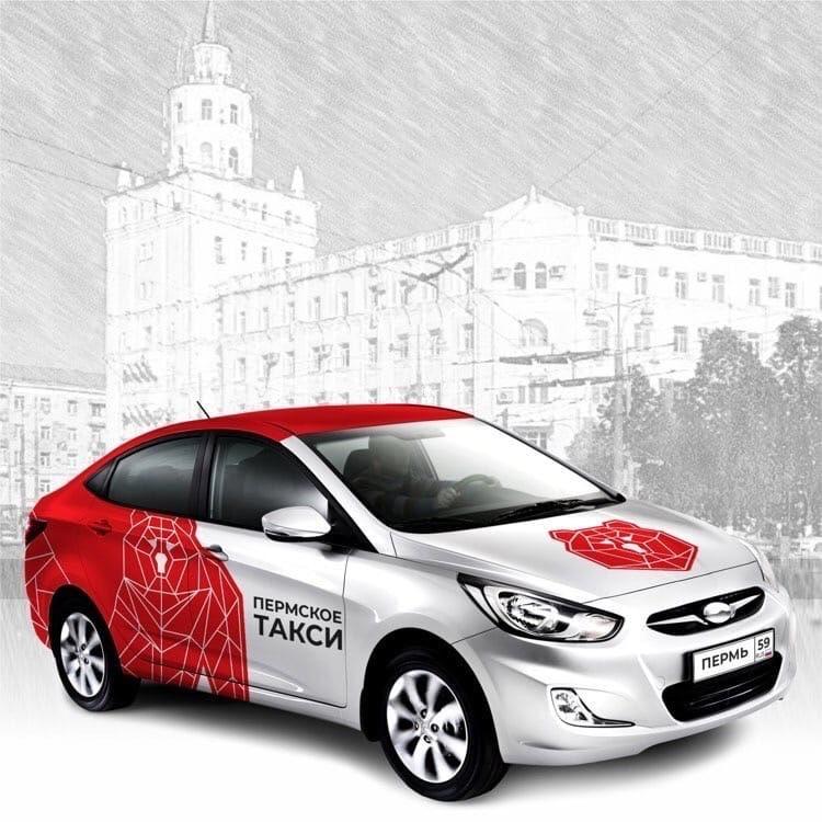 Фото: как могут выглядеть пермские такси в едином оформлении?