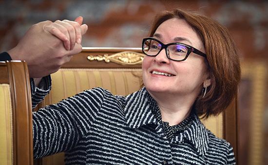 Глава Центробанка РоссииЭльвира Набиуллина