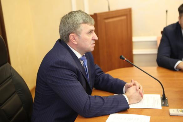 Новый глава администрации Адмиралтейского районаСергей Оверчук