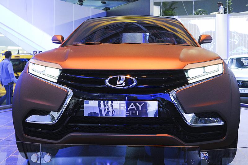 Концепт-кар компании АвтоВАЗ Lada XRAY