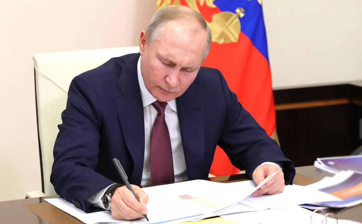 Путин поручил Думе запретить уравнивать роли СССР и Германии в войне