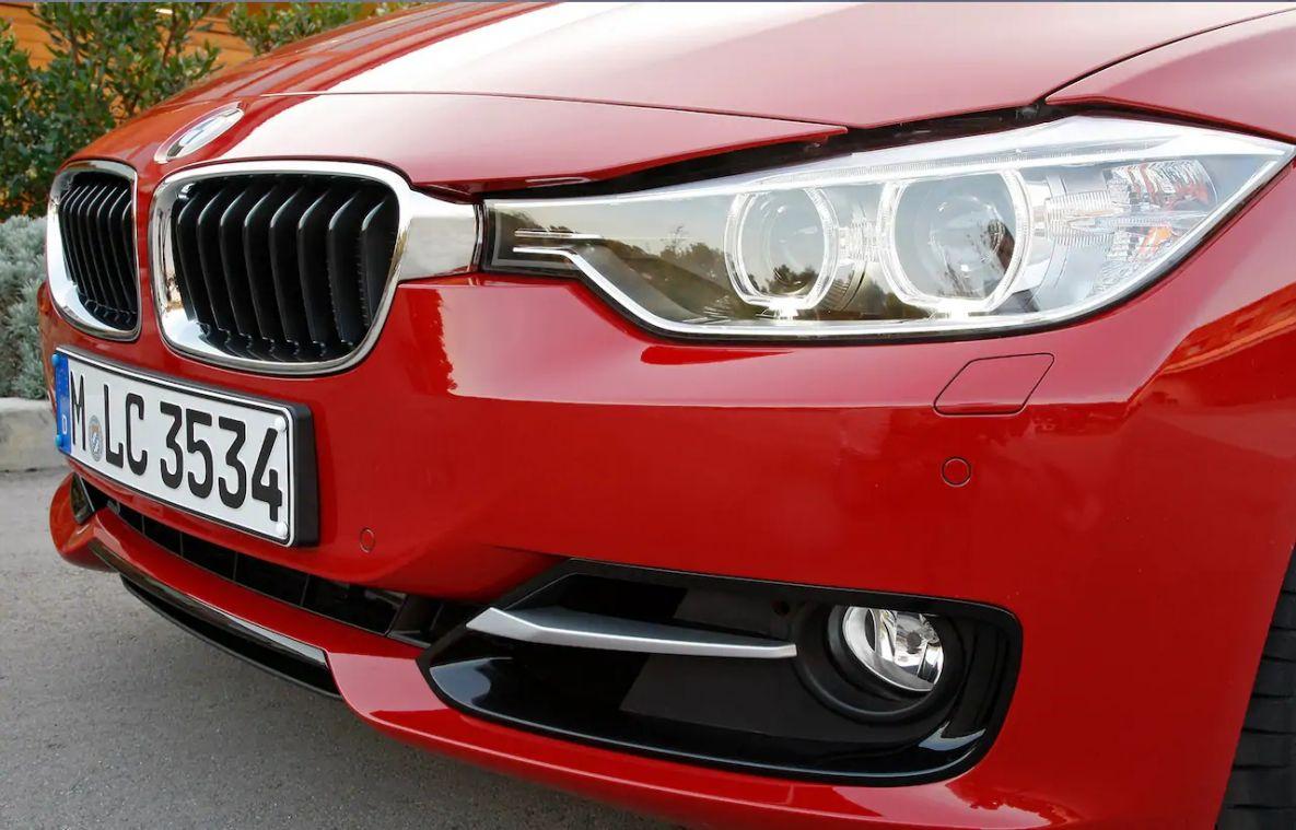 Это решетка радиаторов BMW X3