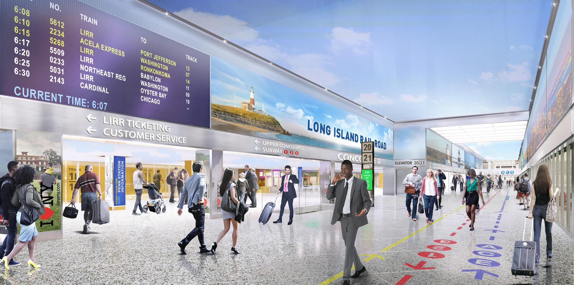 План реконструкции Penn Station представил губернатор штата Нью-Йорк Эндрю Куомо. По словам политика, источники финансирования длястроительства новой железнодорожной станции уже найдены, пишет New York Times