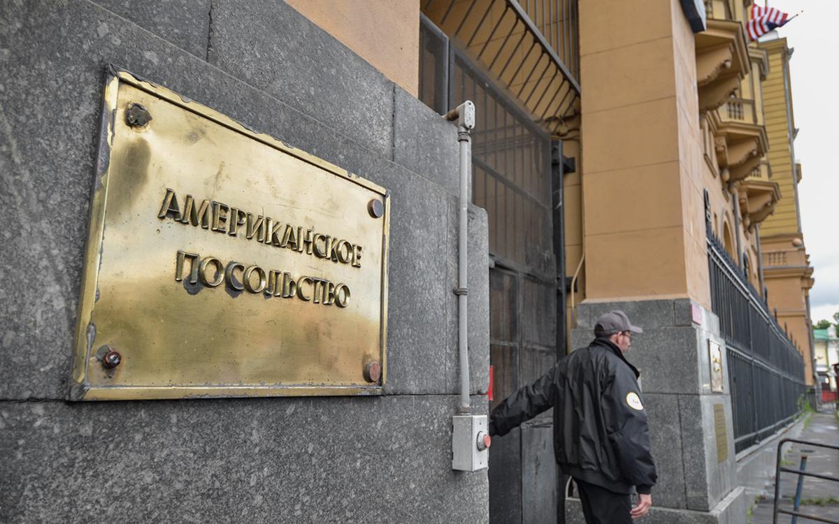 В Москве мужчина проник в посольство США из-за заговора и искал христиан