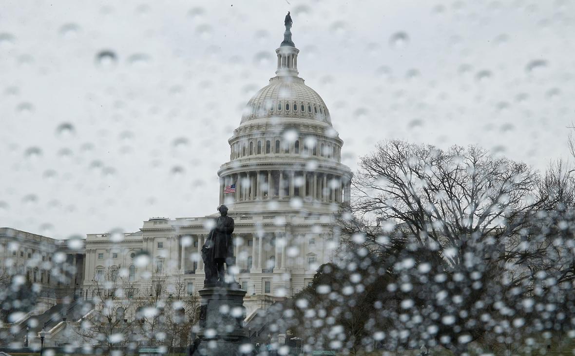 Здание Капитолия, где заседает сенат США