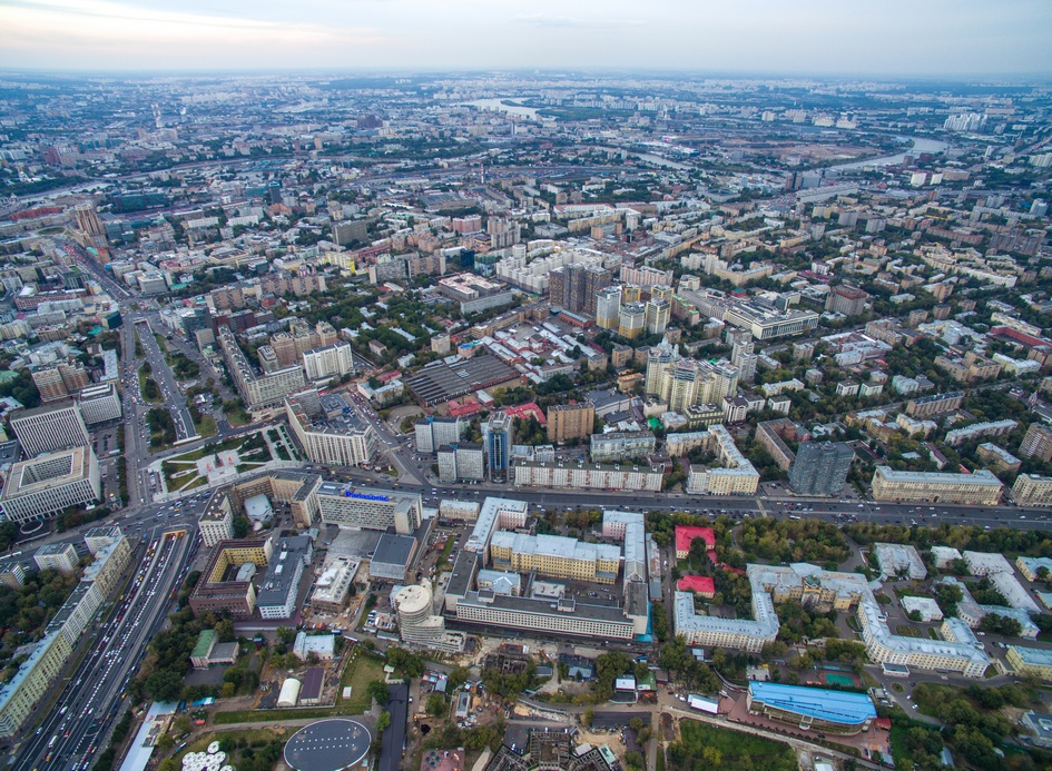 Вид на Ленинский проспект
