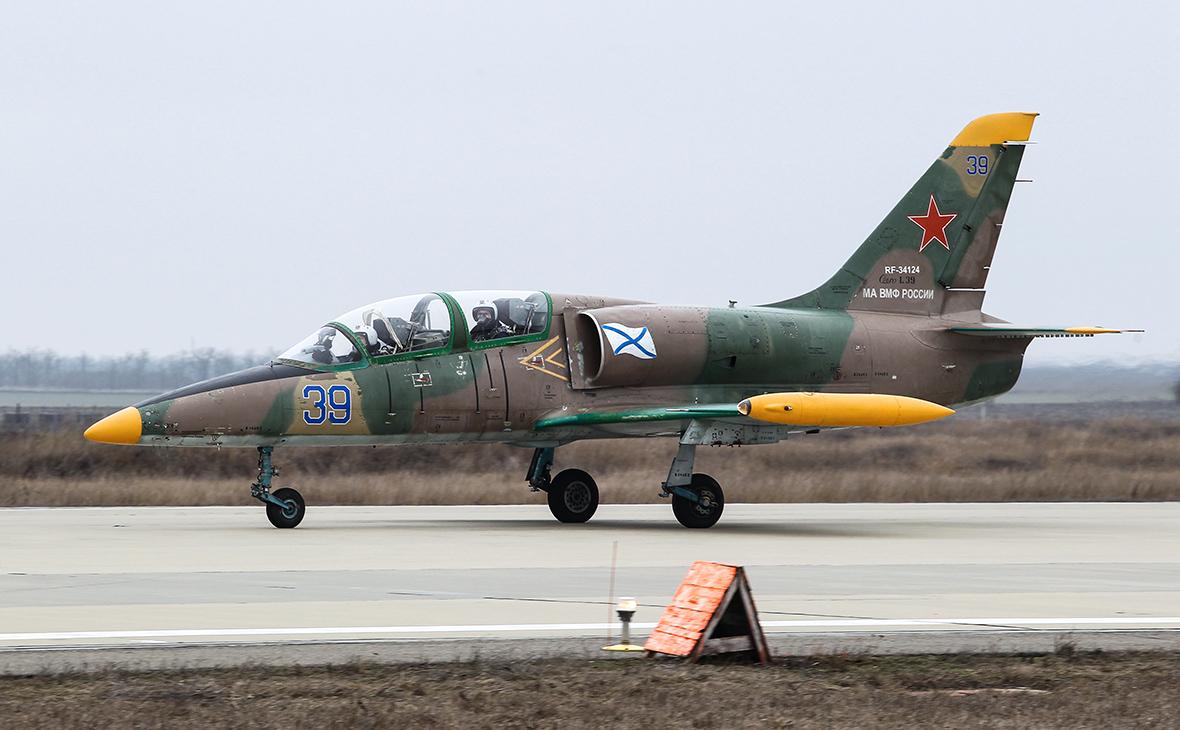 Военно-учебный самолет Л-39
