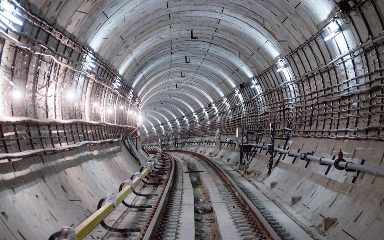 Туннель Троицкой линии столичного метрополитена