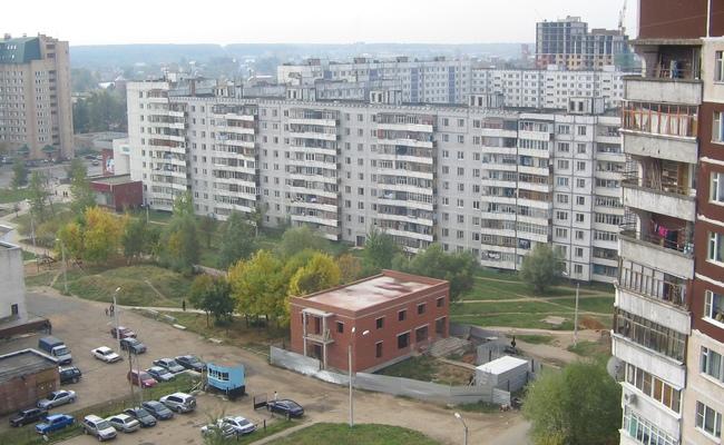 Вид намикрорайон Мальково вНаро-Фоминске