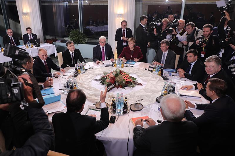 Встреча «нормандской четверки» вБерлине