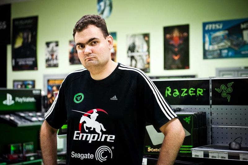 Спортивный директор Team EmpireАлександр Соломонов