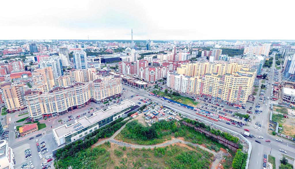 Предполагаемая площадь застройки составит 103 тыс. кв. м. Начало строительства намечено на сентябрь 2017 года