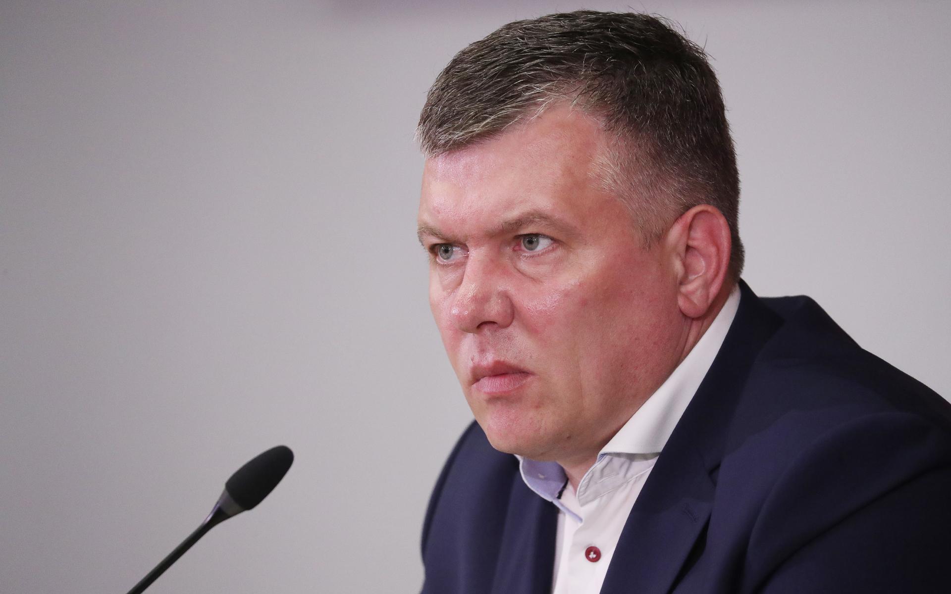 """Генеральный директор """"Спартака"""" Евгений Мележиков"""