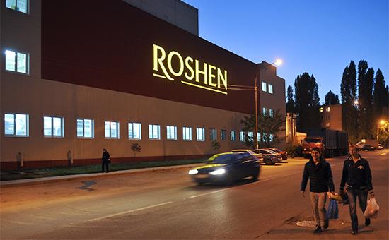 Здание кондитерской фабрики Roshen в Липецке