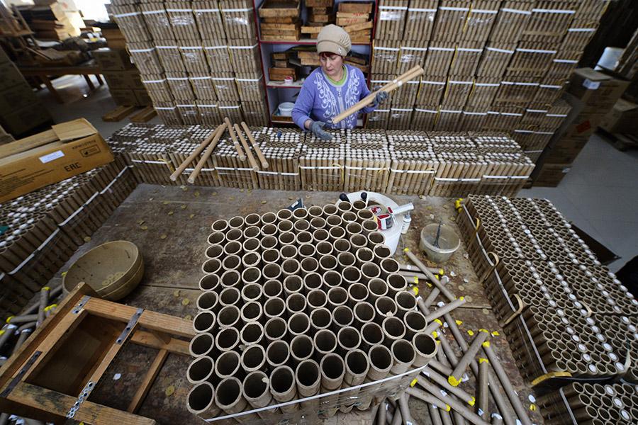 Производство пиротехники
