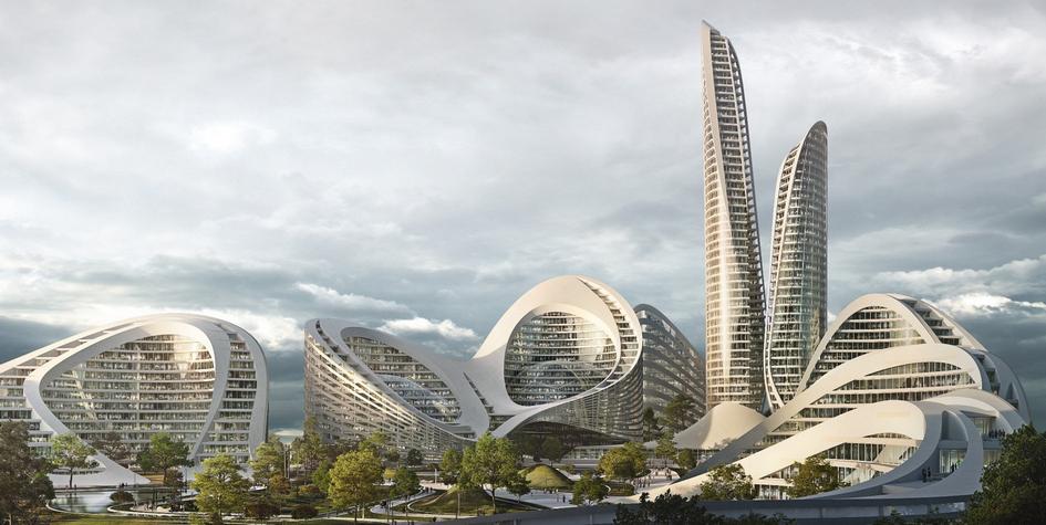 Фото:Zaha Hadid Architects/АО «Рублево-Архангельское»