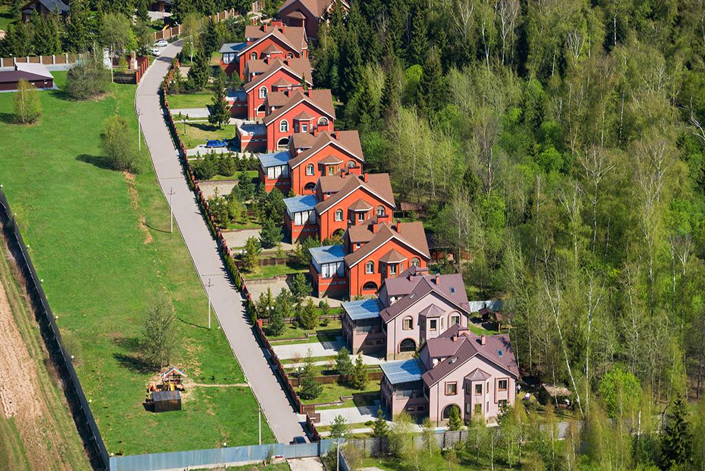Небольшой коттеджный поселок