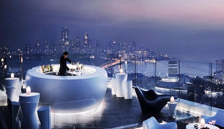 Бар AER в Мумбаи, отель Four Seasons