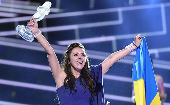 Представительница Украины Джамала, победившая в финале 61-го международного конкурса песни «Евровидение-2016»
