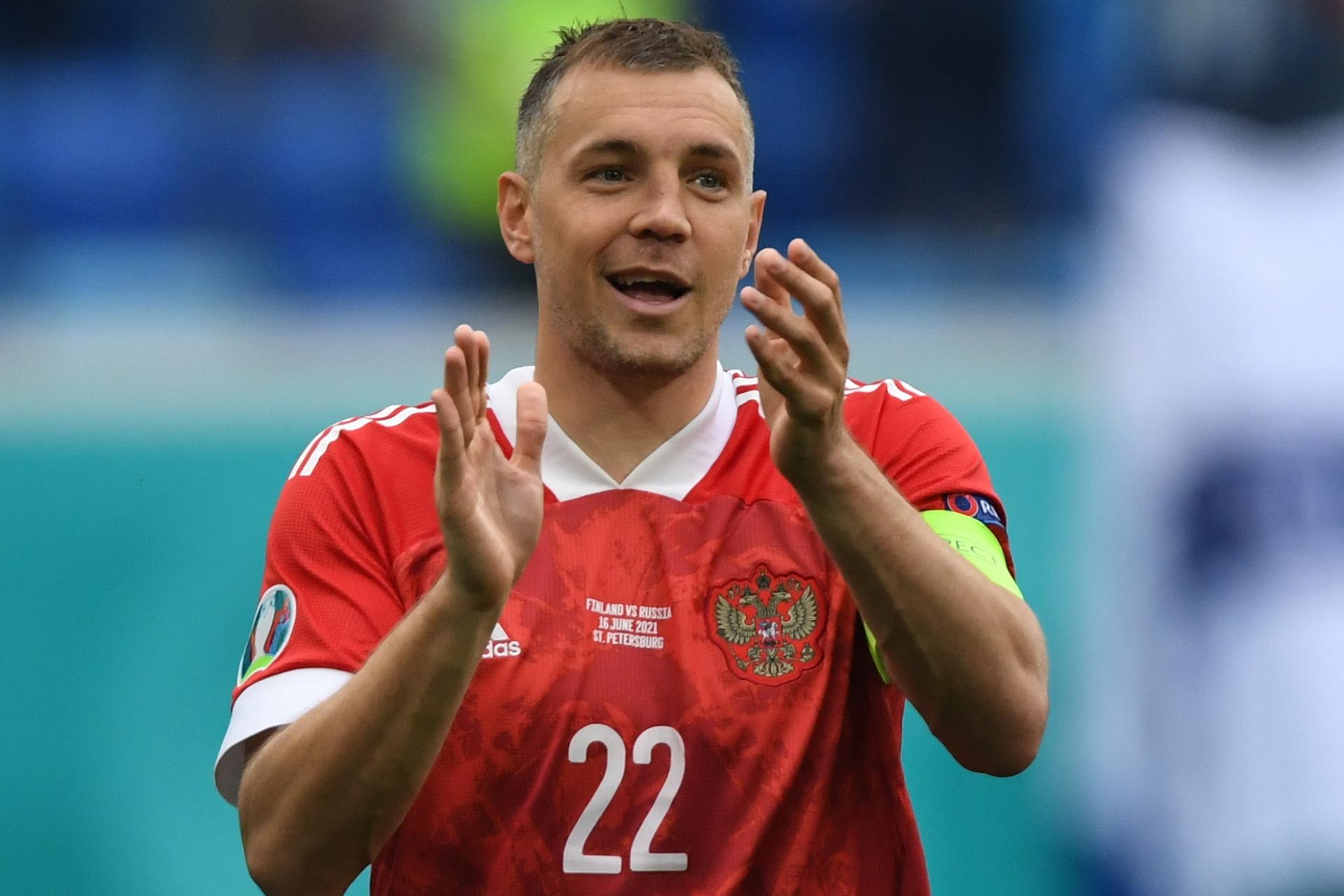 Нападающий «Зенита» и сборной России Артем Дзюба