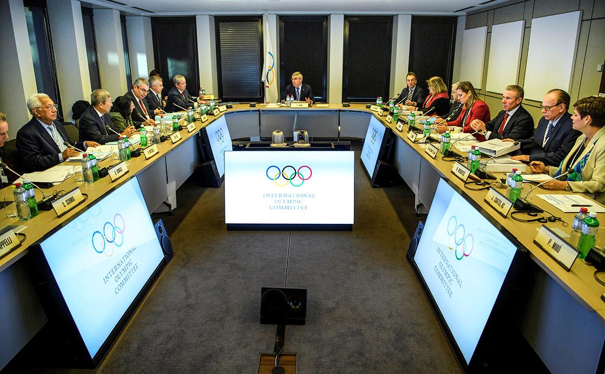 Заседание исполкома комиссии МОК в Лозанне