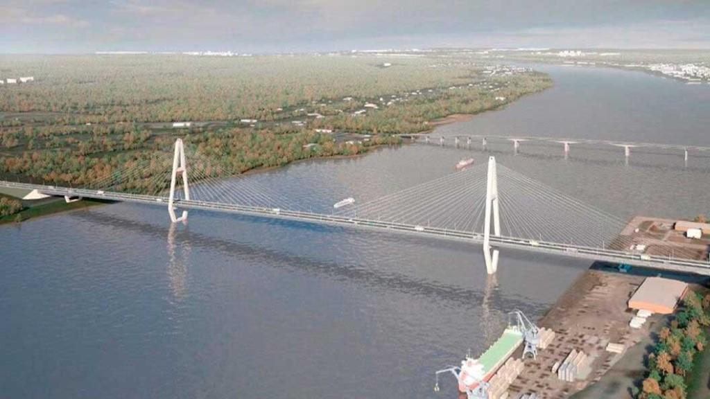 В минтрансе рассказали где будет проходить третий мост через Каму