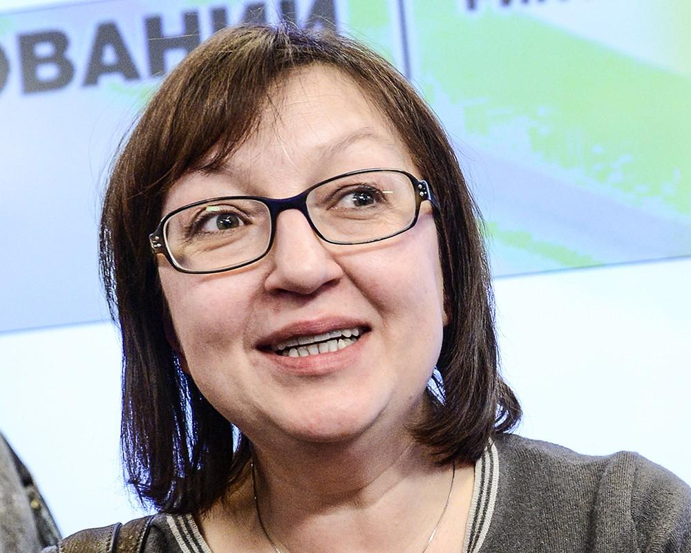 Бывший главный редактор Lenta.ru Галина Тимченко